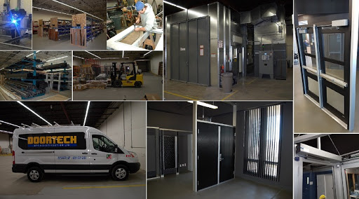 Doortech - composite picture - installations vehicle products